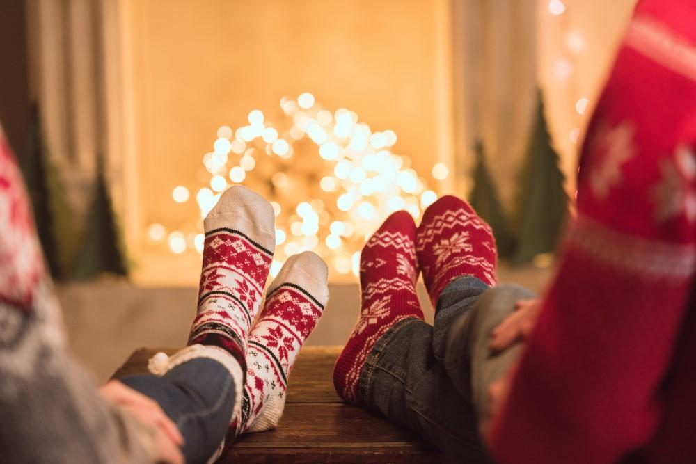Par på juleophold